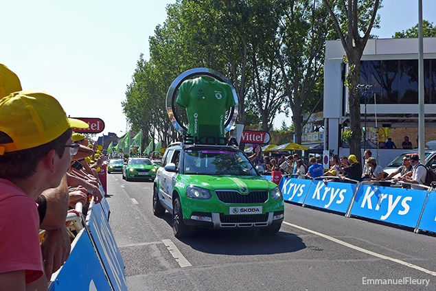 Tour de France 2015 - Skoda maillot du classement à points
